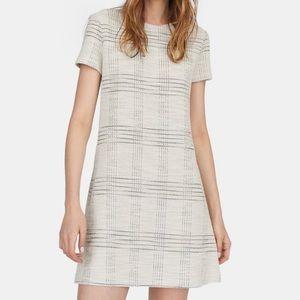 STRADIVARIUS | Beige Short-sleeve Dress, size S